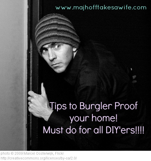 New Year Resolution Burglar Proof Your Home Major Hoff