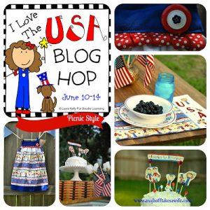 I Love The USA Blog Hop: Summer Picnic Style