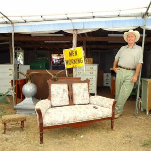 Take a peek at my favorite booth at the Round Top / Marburger Farms Antique Show