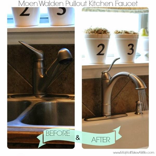 Moen kitchen faucet installation