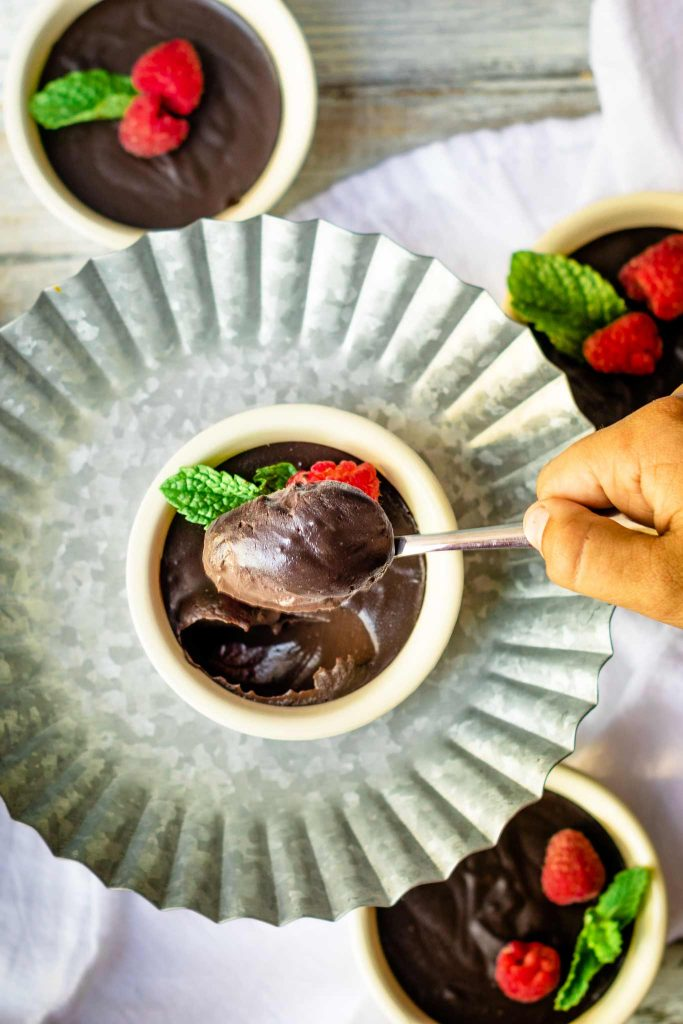 skip the box mix and make from scratch chocolate pudding