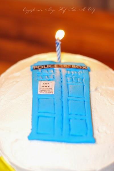 Doctor Who Police Box Stencil