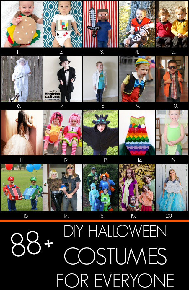 88+ Handmade Halloween costumes at Creating Really Awesome Free Things