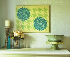How to make easy DIY canvas art