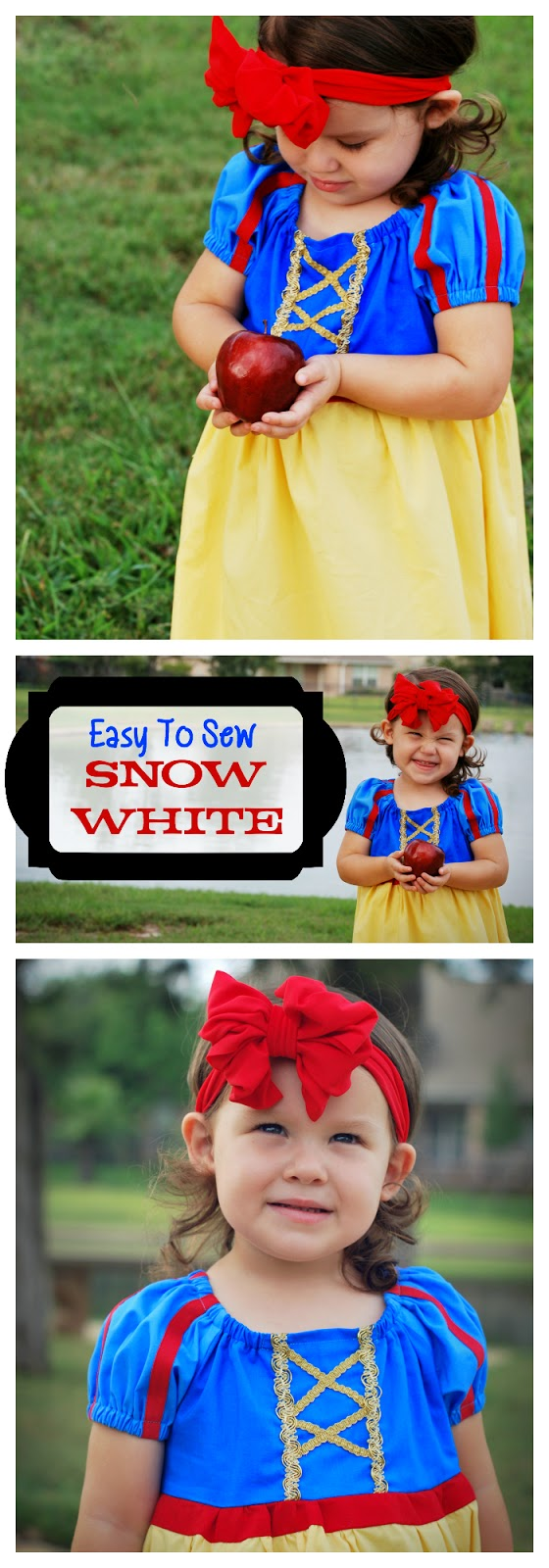 Easy To Sew Snow White Peasant Dress For Halloween or Dress Up  sc 1 st  Major Hoff Takes A Wife & Easy To Sew Snow White Peasant Dress For Halloween or Dress Up ...