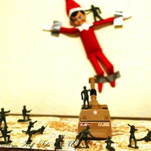 Why I put my teen in charge of the elf on the shelf