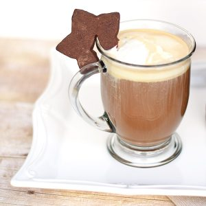 Christmas Latte : Hot Buttered Latte with Kahlua