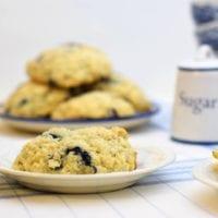knock off Starbucks blueberry scones