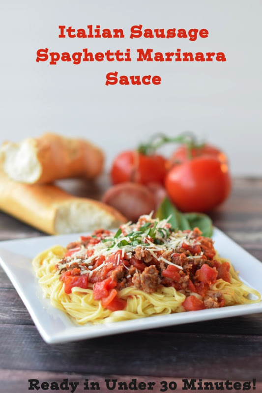 Italian sausage marinara sauce major hoff takes a wife family everything you need to know to make the most scrumptious italian sausage marinara sauce with linguine forumfinder Gallery