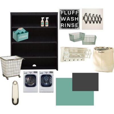 Laundry Room Ideas Inspiration Mood Board
