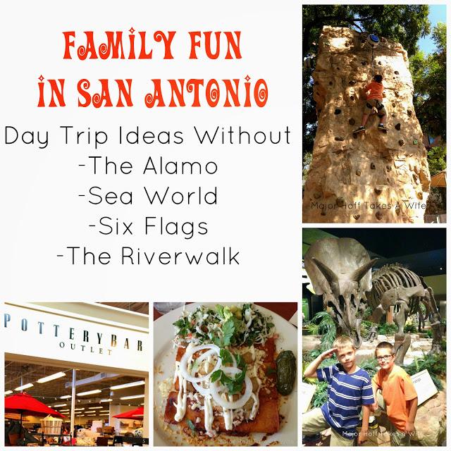 Family Fun in San Antonio, Texas. Tips and Tricks for families to enjoy San Antonio without the usual tourist traps.