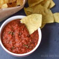 make your own homemade restaurant style salsa