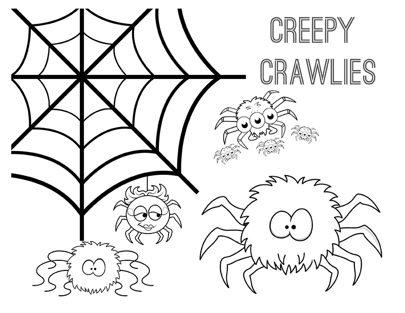 halloween printable coloring pages from major hoff takes a wife