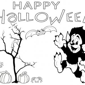 Halloween Printable Coloring Pages