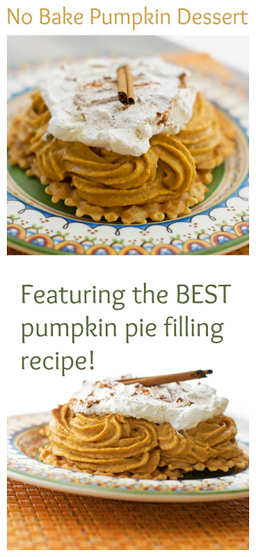 No Bake Pumpkin Dessert That Features The Best Pie Filling Recipe