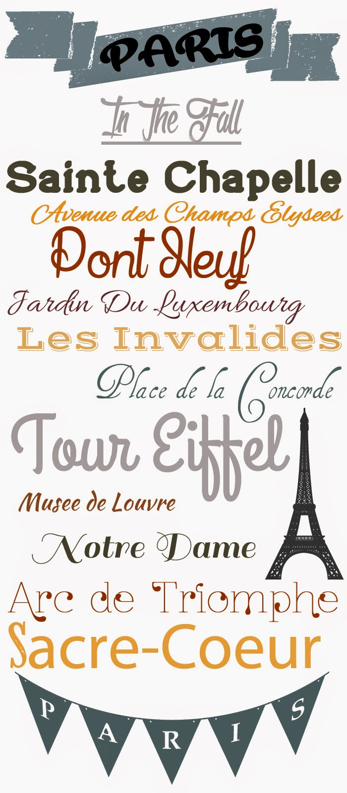 Paris In the Fall Free Fonts