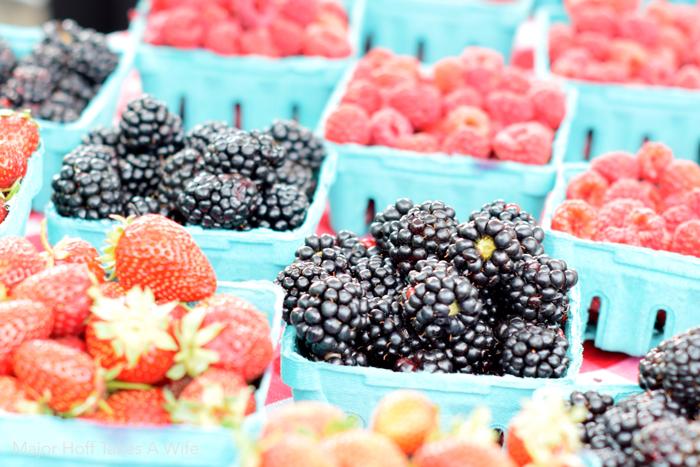 Salem oregon weather grows the best berries