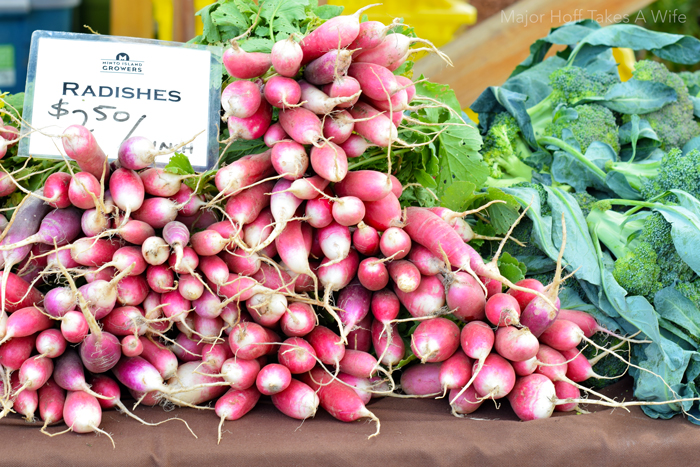 Salem oregon weather allows for amazing tasting veggies
