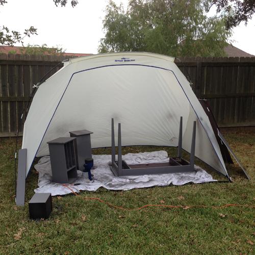 Homeright spray tent