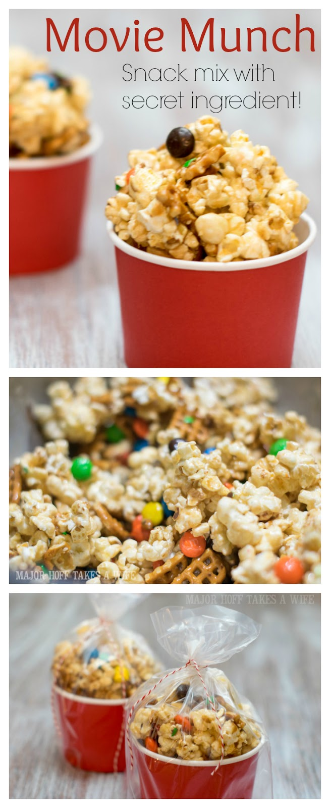 Movie Munch Popcorn Snack