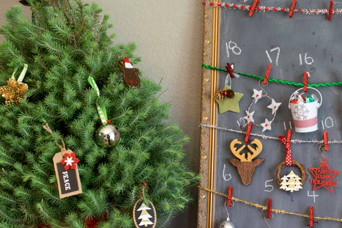 creative advent calendar for kids to decorate