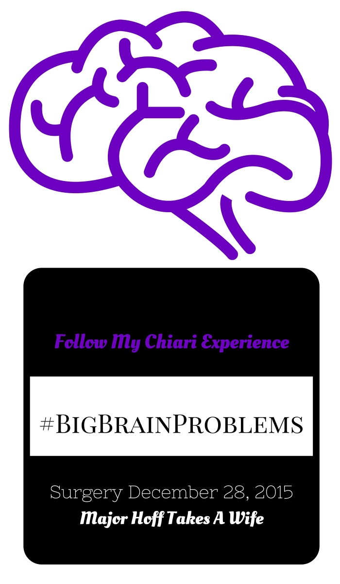 Follow My Chiari Experience. My personal story of being diagnosed with Arnold Chiari Malformation. I will be undergoing surgery this month in an effort to prevent further damage. #BigBrainProblems #Chiari