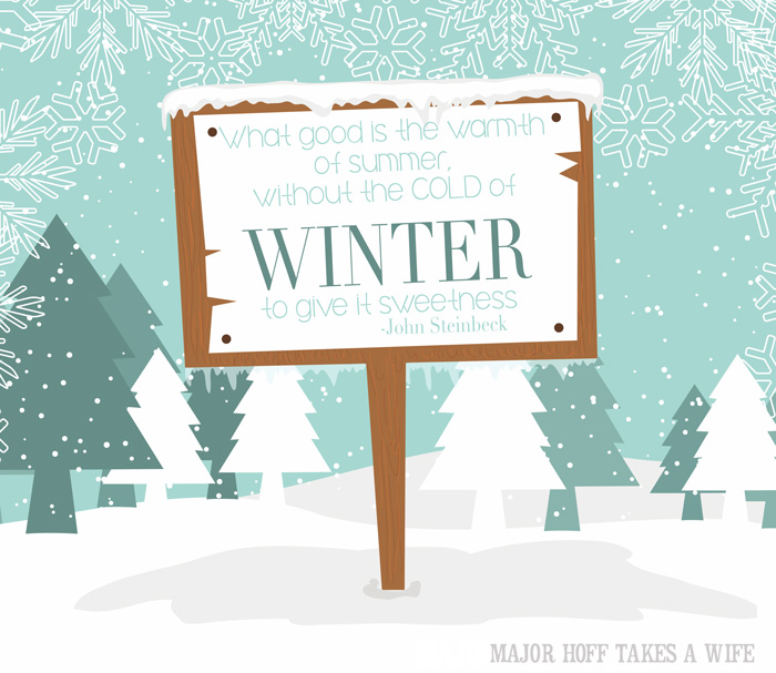 Winter Steinbeck quote