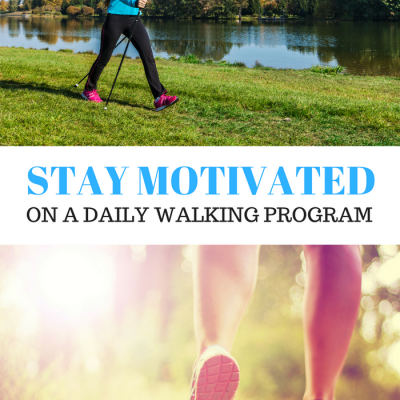 Tips and Tricks to stay motivated on a daily walking program