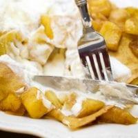 Caramelized Apple Dessert Crepes