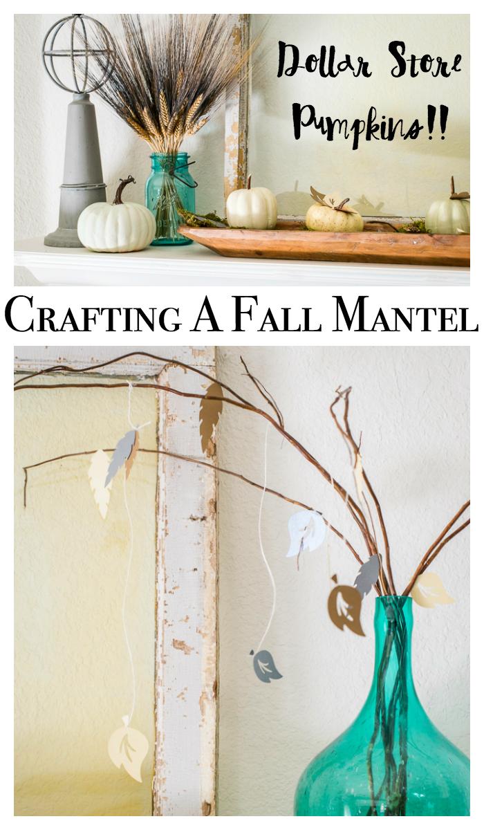 Fall Craft Ideas For A Mantel : Home Decor With A Cricut - Major ...