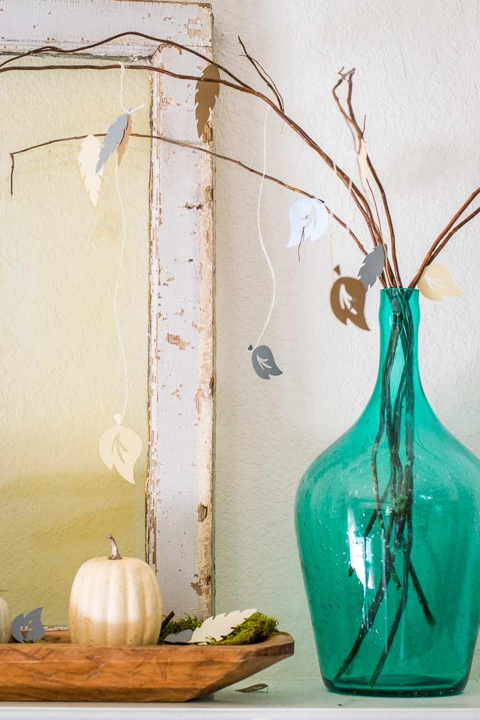 Fall Home Decor with Cricut
