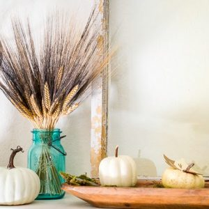Fall Craft Ideas For A Mantel : Home Decor With A Cricut