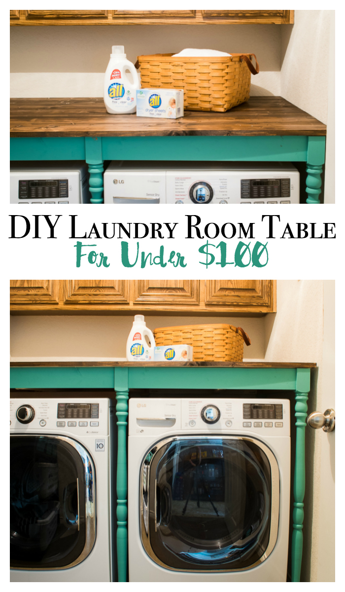 diy laundry room table - Laundry Folding Table