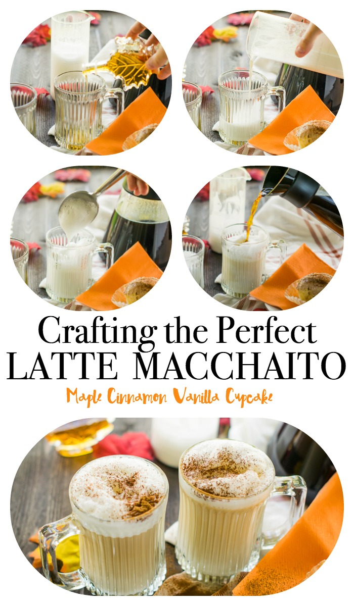 Move over pumpkin spice, a maple latte is the new fall favorite! This step by step tutorial will show you how to make the perfect autumn latte! Wanted to know how to make a macchiato? You'll learn that too. It's the perfect macchiato vs latte showdown for all coffee lovers! Skip the Starbucks and learn how to do it yourself today!
