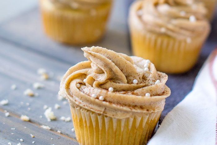 maple brown sugar cinnamon icing.
