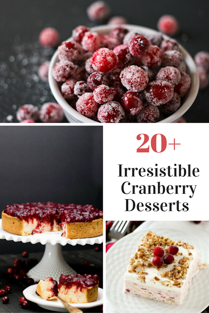 20 Plus Recipes for the BEST Cranberry Cakes Pies Tarts ...
