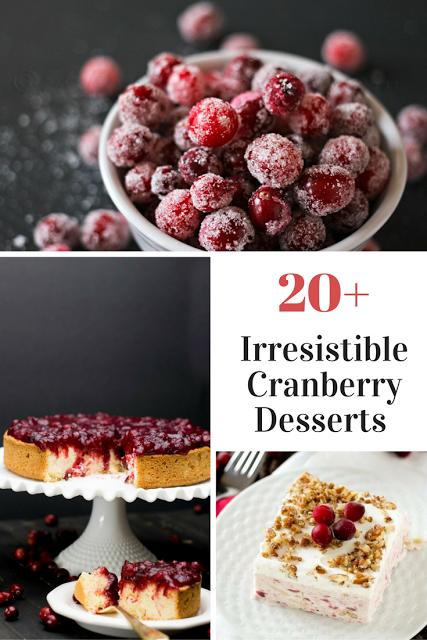 20 irresistible cranberry desserts