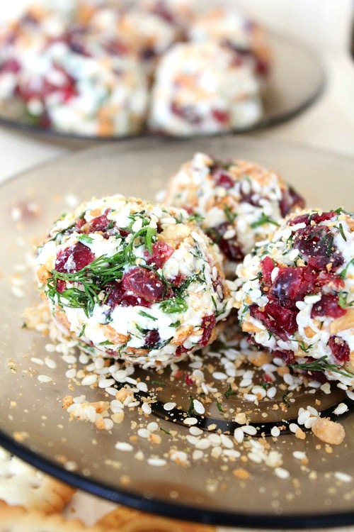 Goat Cheese Cranberry Appetizer