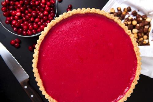 cranberry tart
