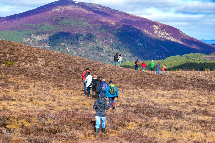 Hiking in the Cairngorms