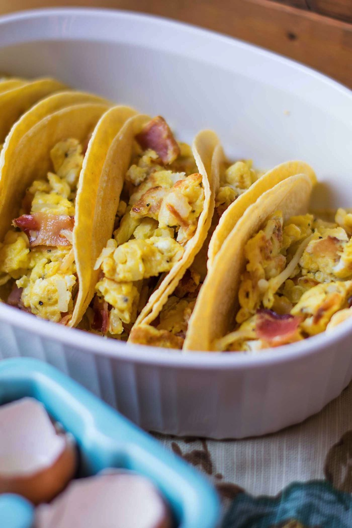 Breakfast Tacos For Brunch