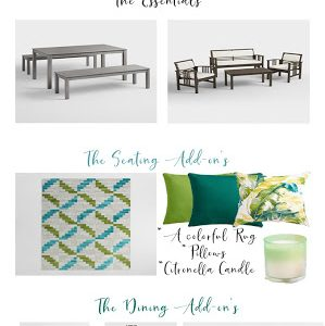 Summer Patio Must Haves!