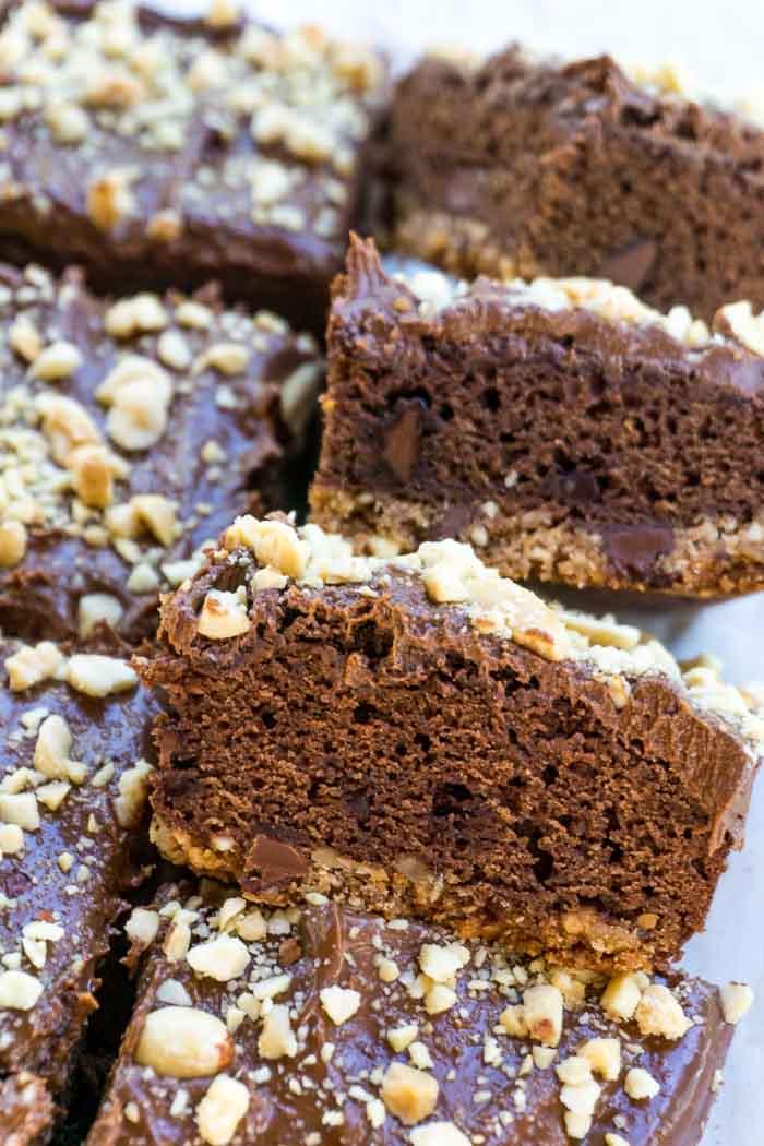 Peanut Butter Pretzel Brownies 22