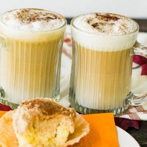 Maple Cinnamon Vanilla Cupcake Latte Macchiato
