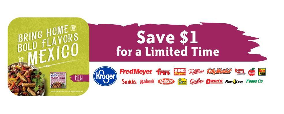 Frontera frozen meals coupon