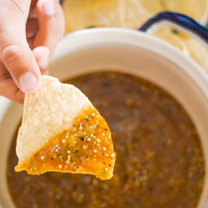Easy Homemade Tomatillo Salsa