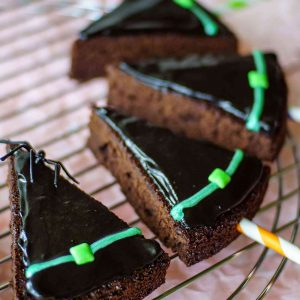 Witch Hat Brownie Pops