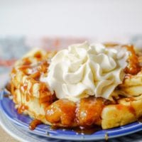 caramelized bananas topping for waffles