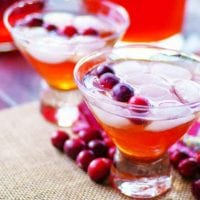 Cranberry Tea Punch Recipe