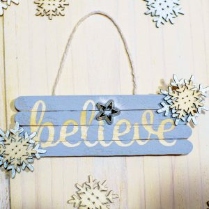 Believe Ornament with Cricut Explore Air 2